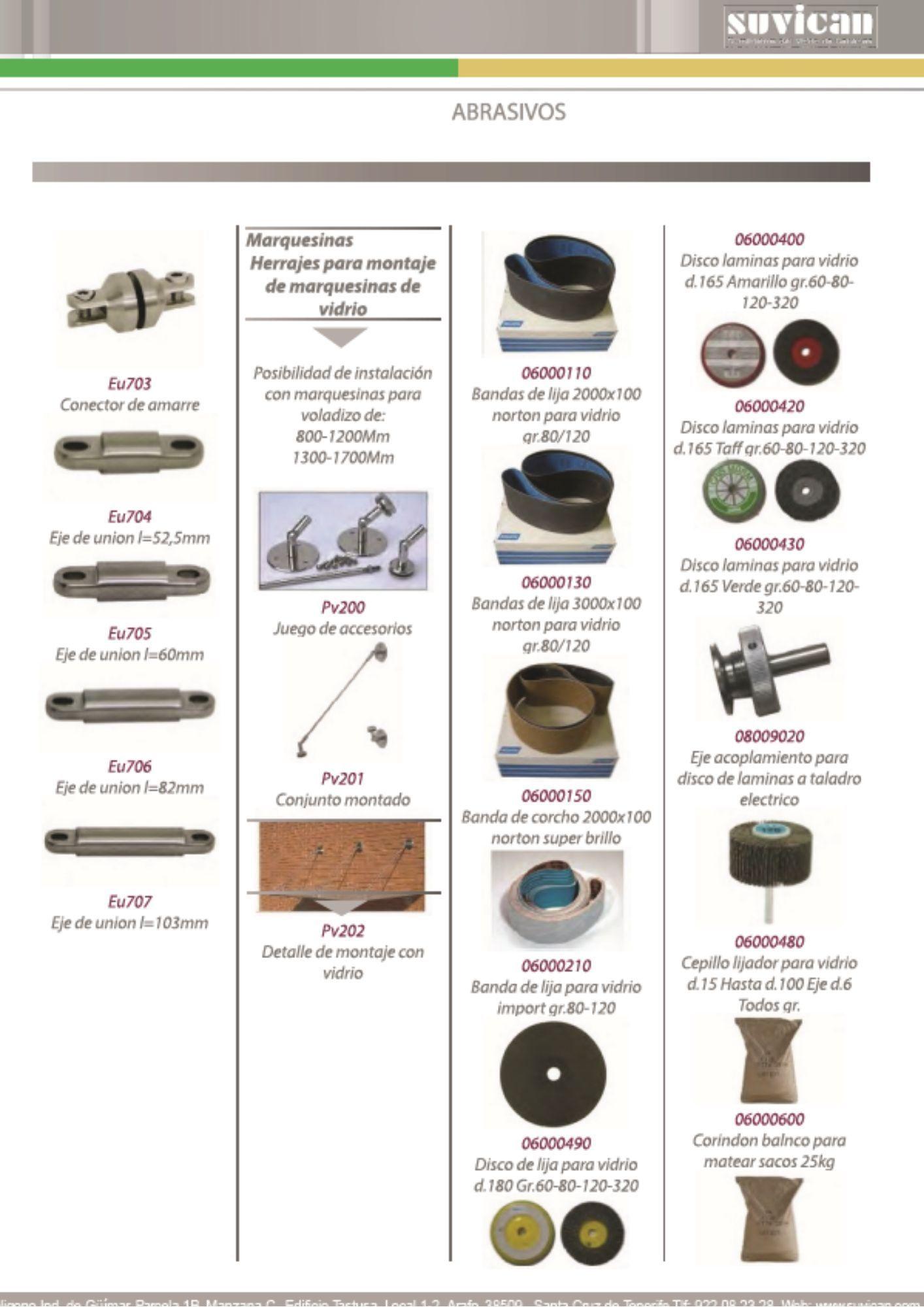 Catálogo de Abrasivos