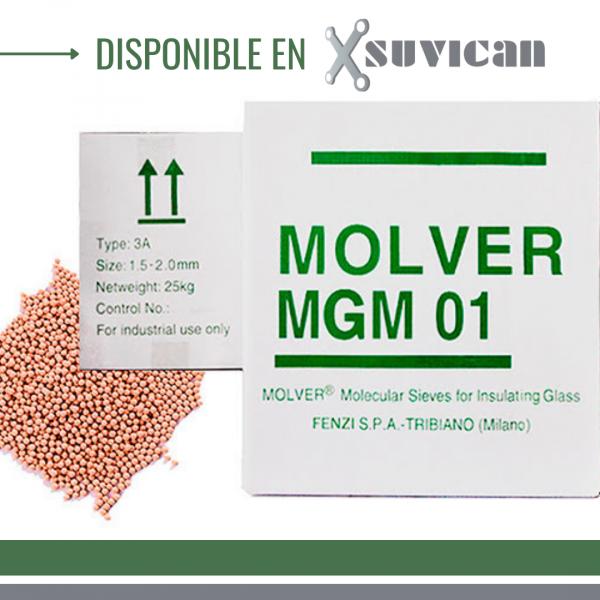 Tamices moleculares Molver